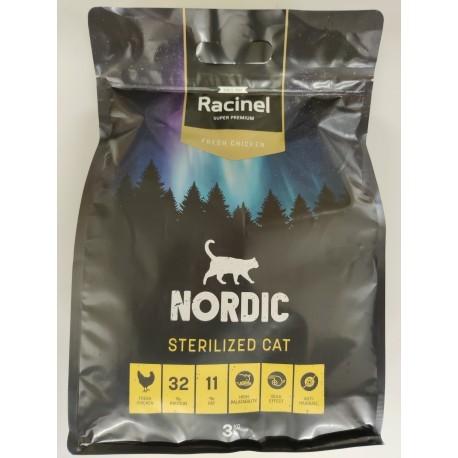 Racinel Cat -  Weight control / Sterilized - FC 3 x 3 kg